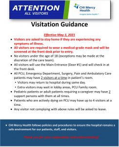 Visitation Guidance